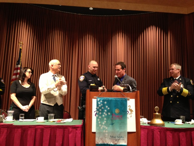 Law Enforcement Officer of the Year 2012 Michael C. Clark