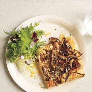 Flaky Mushroom and Gruyère Tarts.