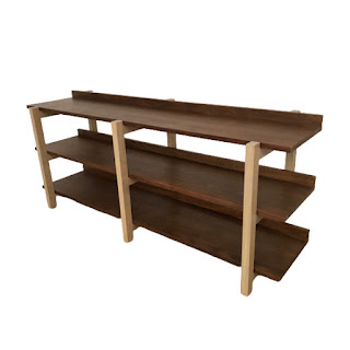 CB2 Stax Console Table