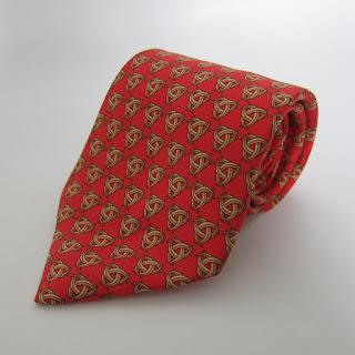 Hermès Celtic Knot Tie