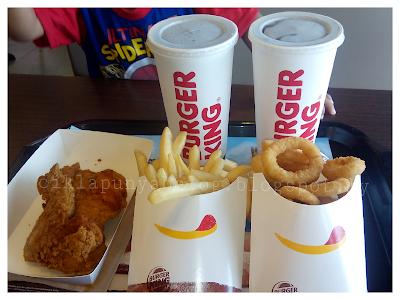 Restoran Burger King kini di Sungai Buloh, Sasaran.