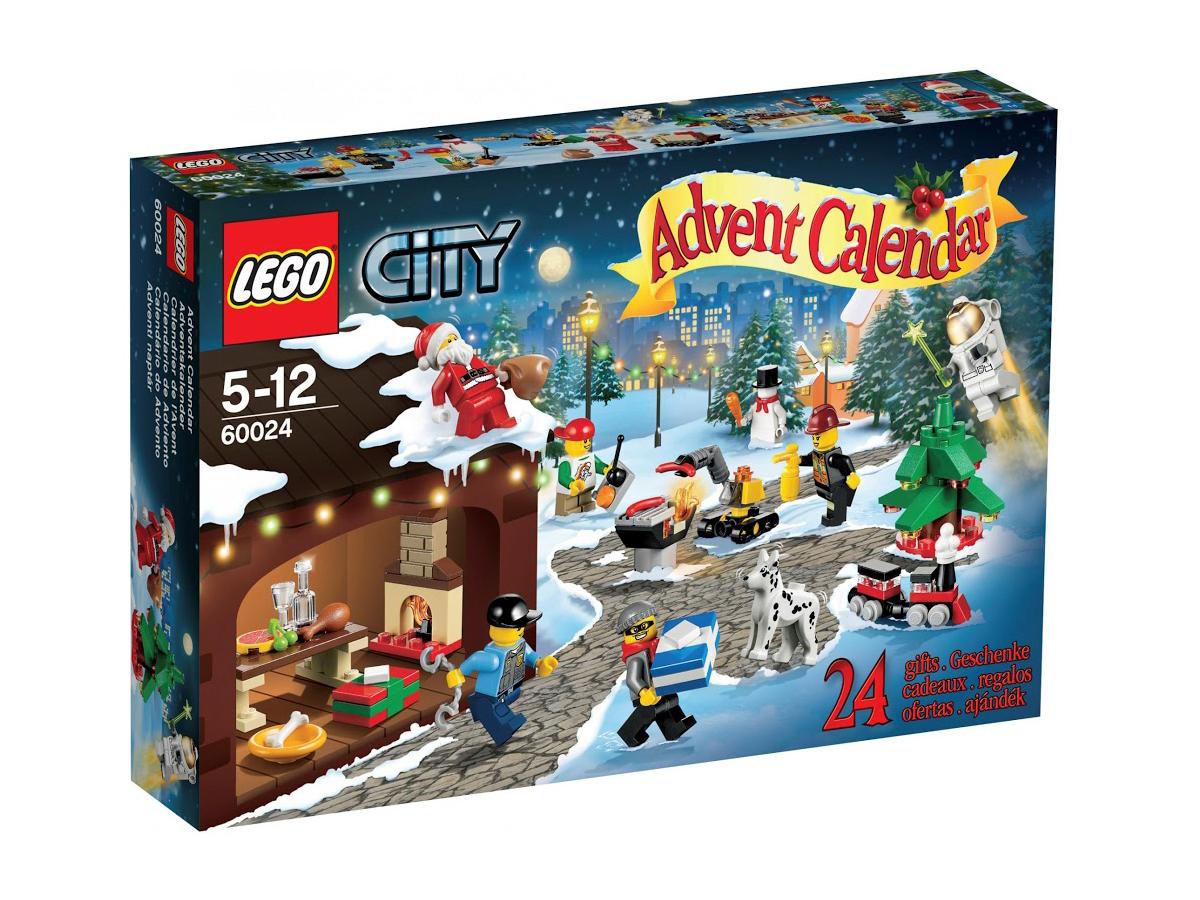 60024レゴ シティ アドベント・カレンダー