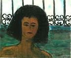 053 - Mareva - 1994 27 x 22 - Encre acrylique sur toile