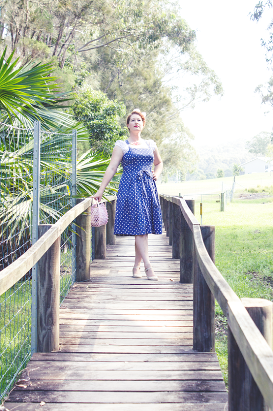 Relaxed 1950s vintage style | Lavender & Twill
