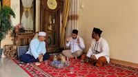 Ketua DPC- PKB, Bersilaturrahmi dengan ulama kharismatik Aceh Utara Waled sirajuddin