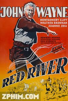Sông Đỏ - Red River (1948) Poster