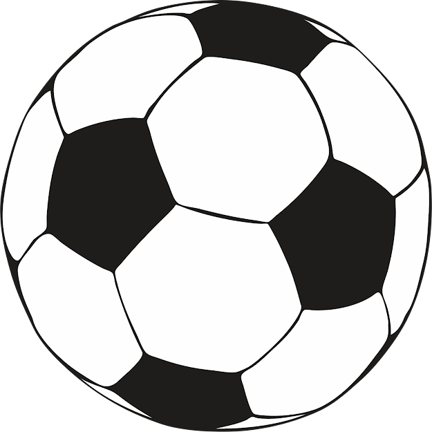 Coloring Soccer Ball Coloring Page