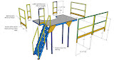 Access Platform -  Exploded view , Earl Pinor, Westinghouse Electric, LLC