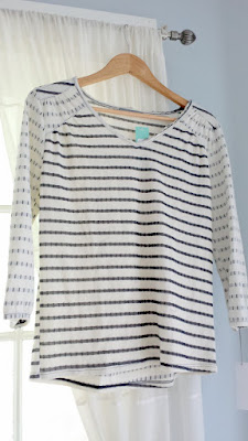 Stanyan V-Neck Knit Top from Stitch Fix, August 2015
