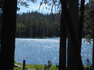 But some were downright gorgeous.  This is Turnaround Lake...which is a good place to turn around if you a doing a day hike.  ©http://backpackthesierra.com