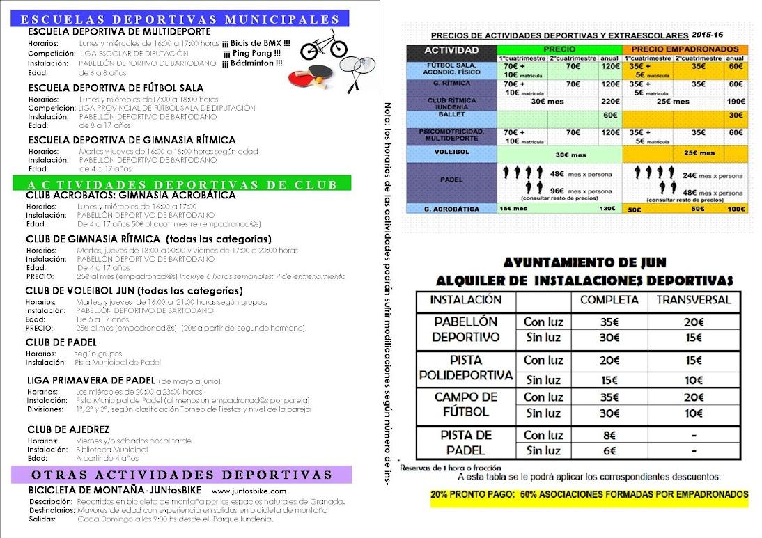 diptico actividades 2015-2016