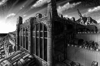 "Photo: Ziggurat Five by Chris Sumption - 10"" x 12"" Digital (Painter) - Copyright Dragondyne Productions"