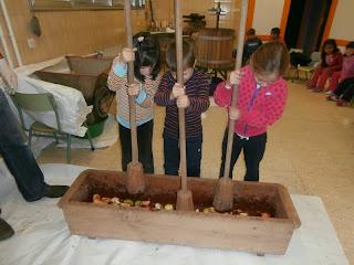 1º,2º. Taller mayado de manzana