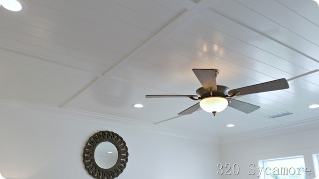 ceiling white wood