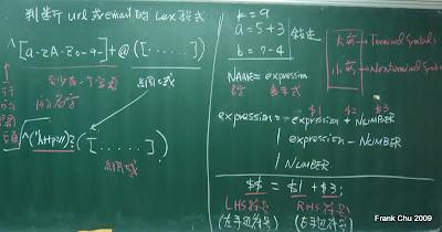 1. Lex習題解說 2. yacc說明
