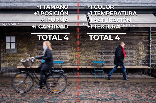 Comparando pesos, foto de Carlos Larios