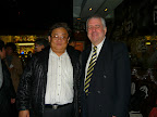 HKKMS Vice President Prof Eric Tsui with President Les Hales