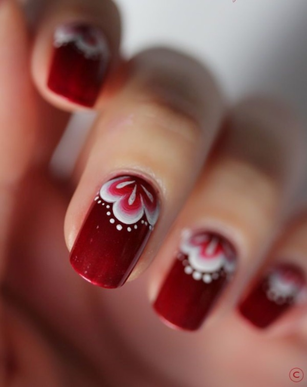 Red Nail Art Designs - Cute Nail Ideas for a Red Manicure 1