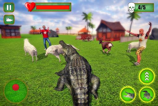 Angry Crocodile Family Simulator: Crocodile Attack filehippodl screenshot 11