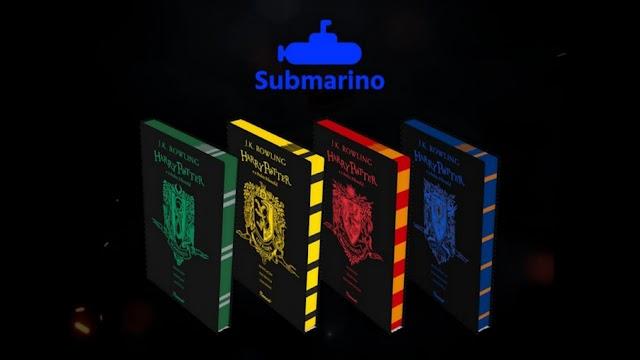 Submarino e Rocco lança edição comemorativa dos livros de Harry Potter com Capa das casas de Hogwarts