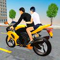 Bike Taxi Simulator: Passenger Transport Game icon
