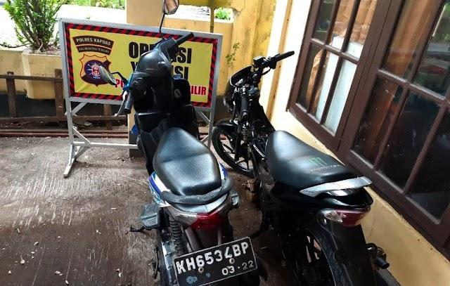 Gara-gara Curanmor, Dua Remaja di Kapuas Dibekuk Polisi