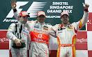 2009 Singpore Podium: 1. Hamilton 2. Glock 3. Alonso