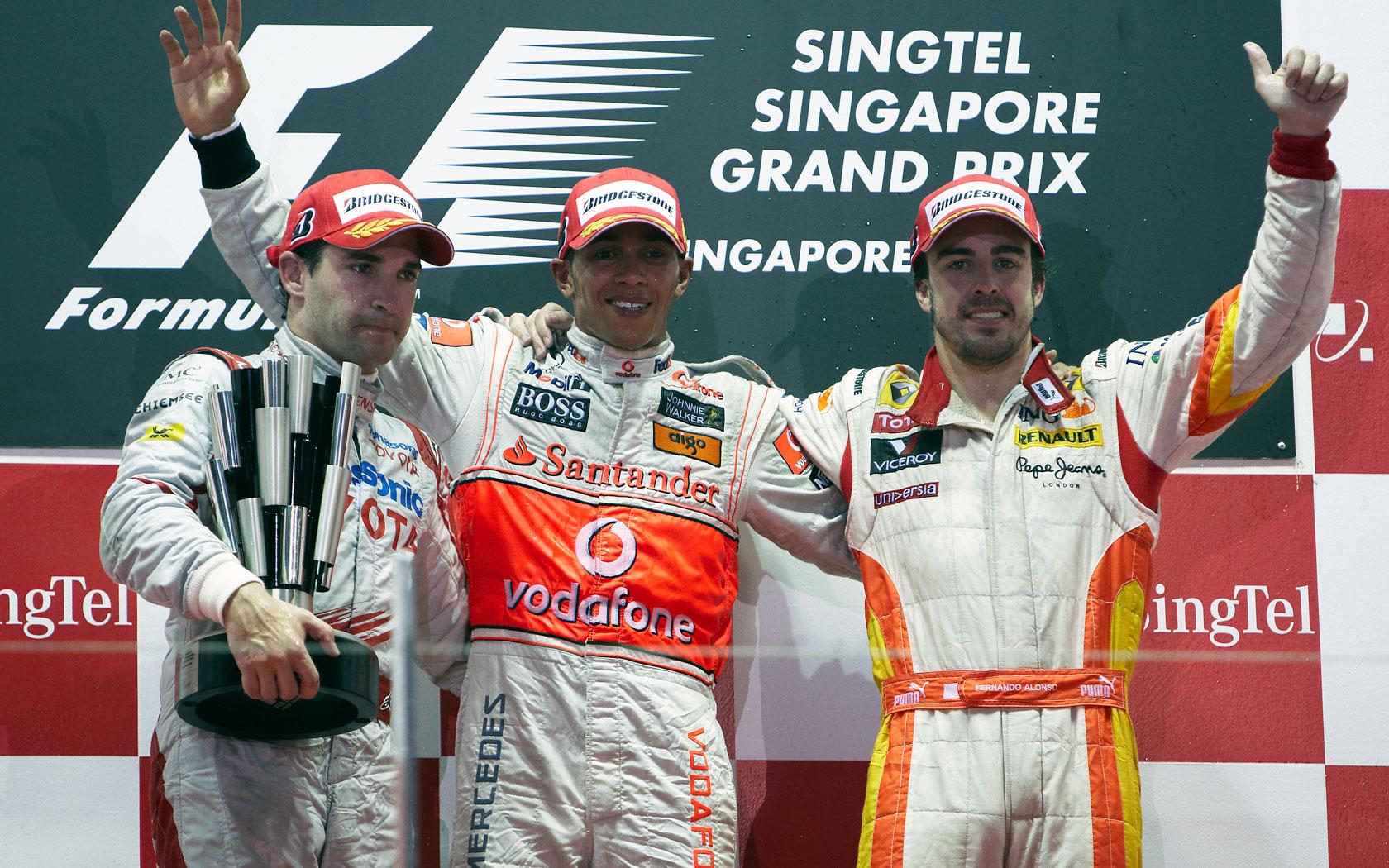 Hd Wallpapers 2009 Formula 1 Grand Prix Of Singapore F1