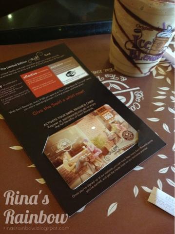 coffee bean and tea leaf swirl card 2013