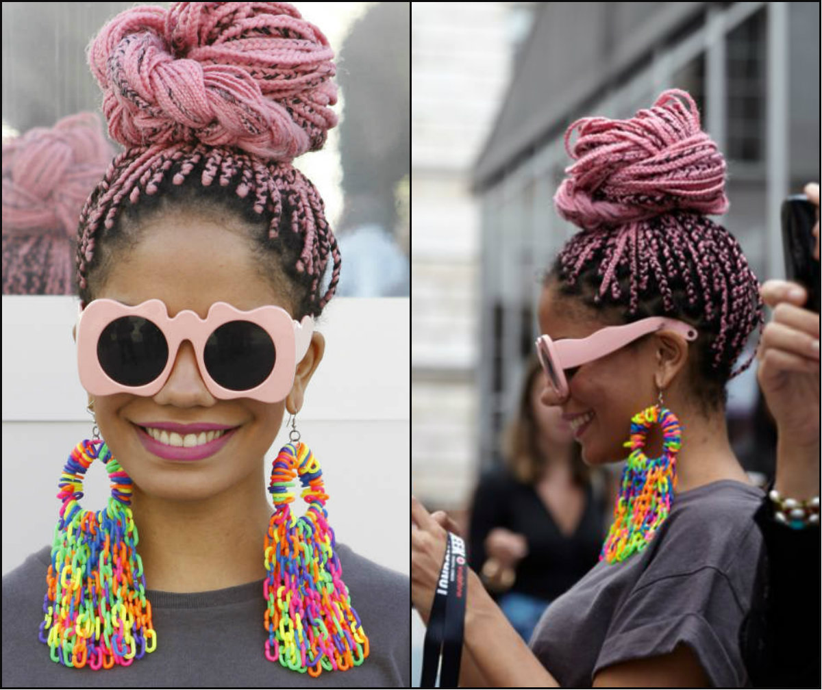 Colourful Box Braids Hairstyles 2017 Styles 7