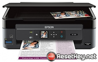 How to reset Epson XP-340 Series printer