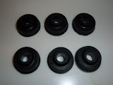 VCGM ..valve cover grommets 4.00 each. These used from mid 1957 until 1962.. Also needed with MOON valve covers.