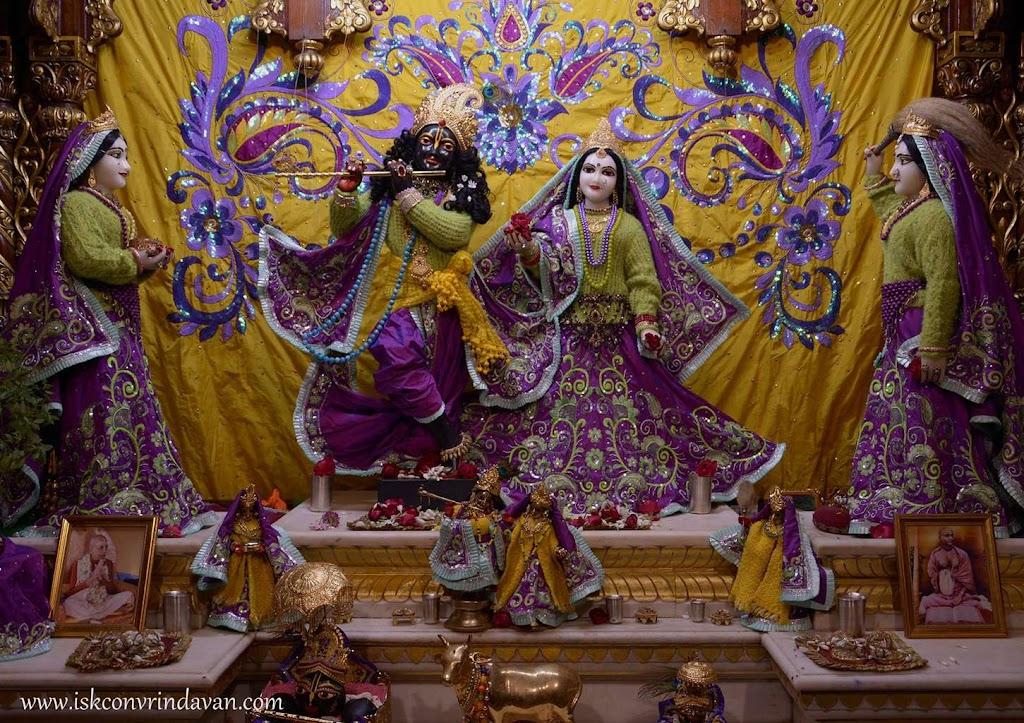 ISKCON Vrindavan Mangal Deity Darshan 14 Dec 2015 (3)
