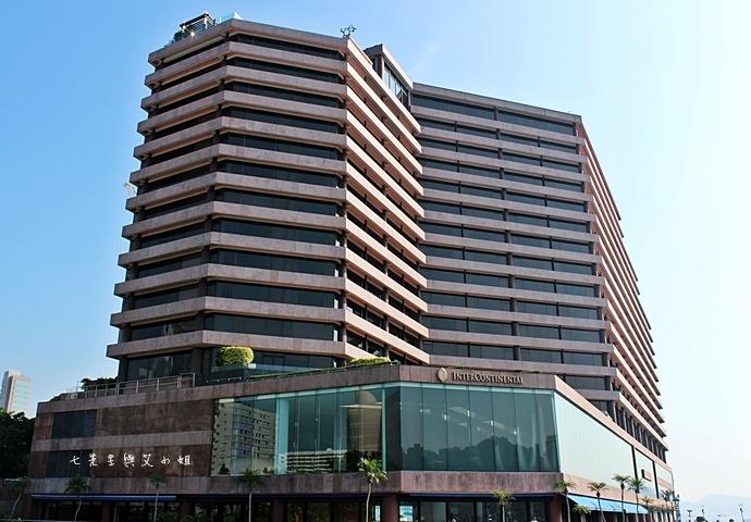 1 洲際酒店 InterContinental 閃躍維港 3D光雕匯演
