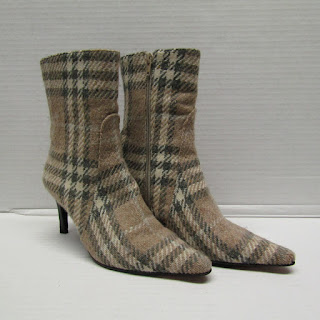 Burberry Wool Ankle Boots
