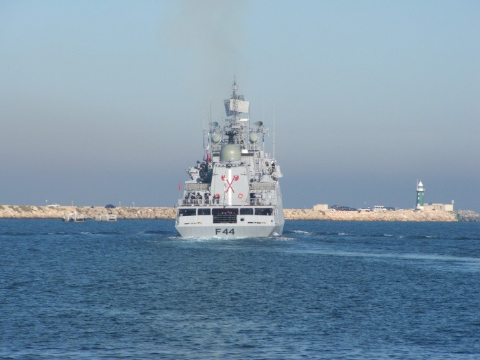 INS Tabar - F44 - Missile Frigate - Indian Navy - 03-TN