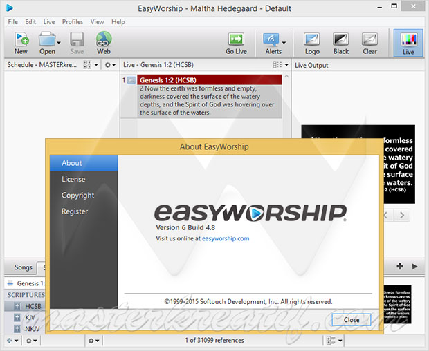 EasyWorship 6 Full Version
