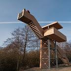 """Himmelstreppe"" - Aussichtsturm in Neuenfelde (OHZ)"