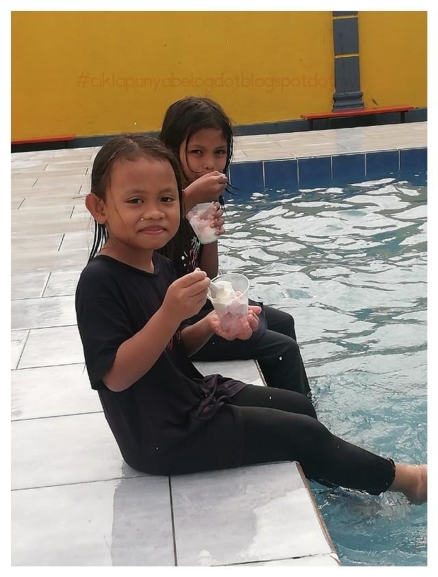 [ENTRI BERGAMBAR] : Meriah sungguh family day pertama tadika KEMAS Seri Cheding B di Norszuara Pool D'Palma.