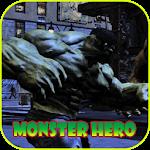 Sliders Green Monster Hero Icon