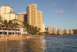 Waikiki Beach (© 2010 Bernd Neeser)