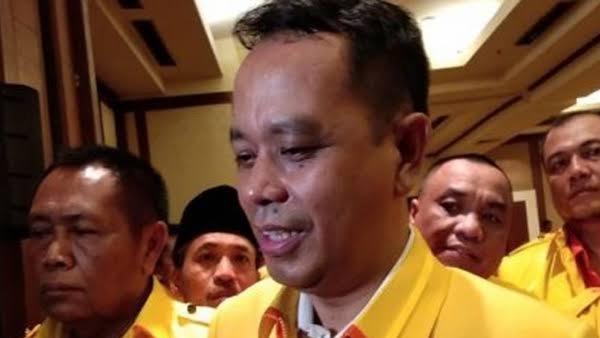 Foto: Badaruddin Andi Picunang. Usai Munaslub Presidium, Berkarya Dukung Jokowi-Ma'ruf Amin.