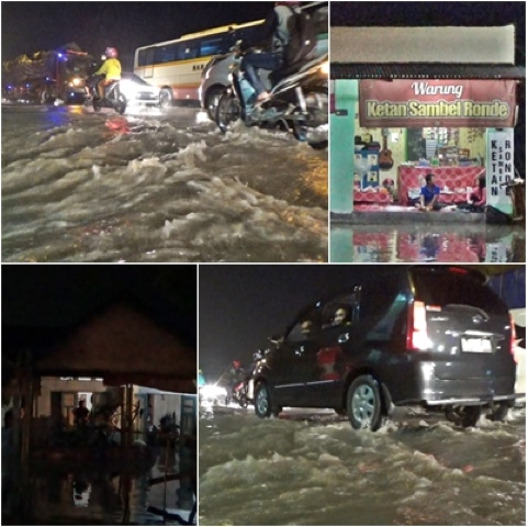 Tiga Jam Diguyur Hujan, Ratusan Rumah di Mojokerto Terendam Air
