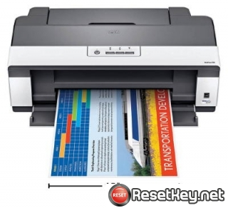 Reset Epson WorkForce 1100 printer Waste Ink Pads Counter