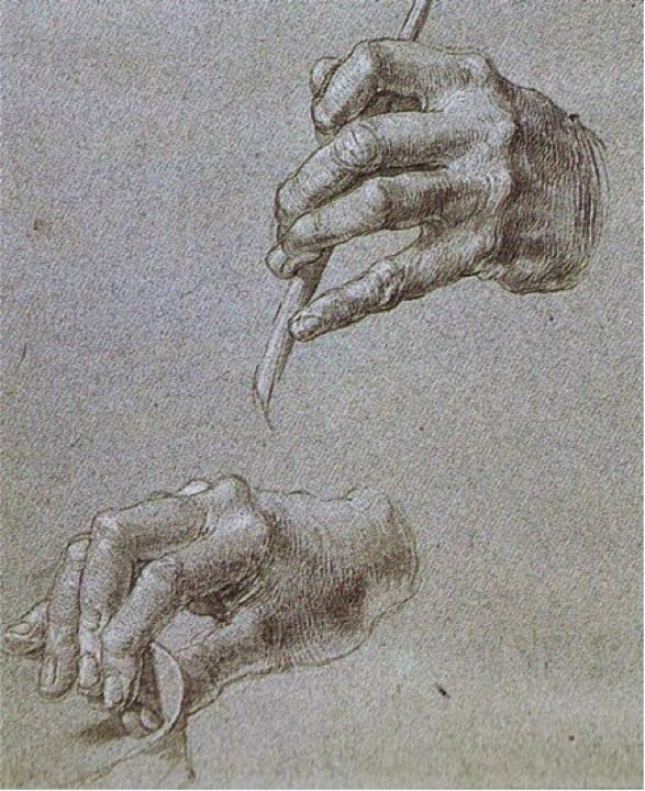 Study of hands, Albrecht Durer. German Northern ...