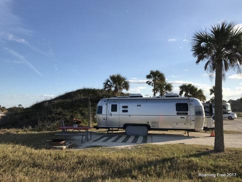 What a classic campsite!