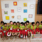 SQUARE DAY CELEBRATION BY PLAY GROUP SECTION (2017-18) AT WITTY WORLD, BANGUR NAGAR