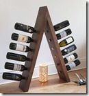 Wooden Wine Ladder
