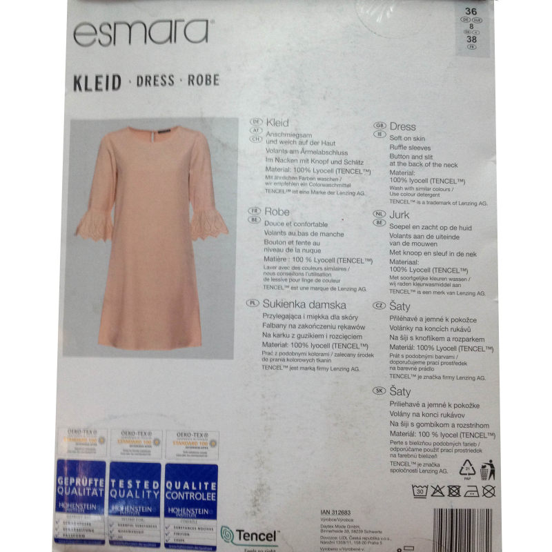 پیراهن زنانه اسمارا مدل IAN 312683