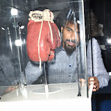 OIC - ENTSIMAGES.COM - David Haye at the  I Am The Greatest - Muhammad Ali exhibition at The O2 London 3rd  March 2016 Photo Mobis Photos/OIC 0203 174 1069